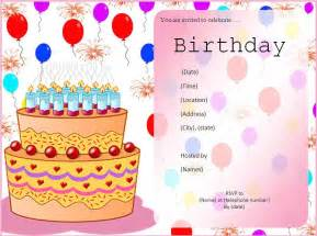 birthday invitation maker invitations templates