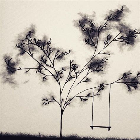 tree with swing drawing 25 best ideas about swing tattoo on pinterest what