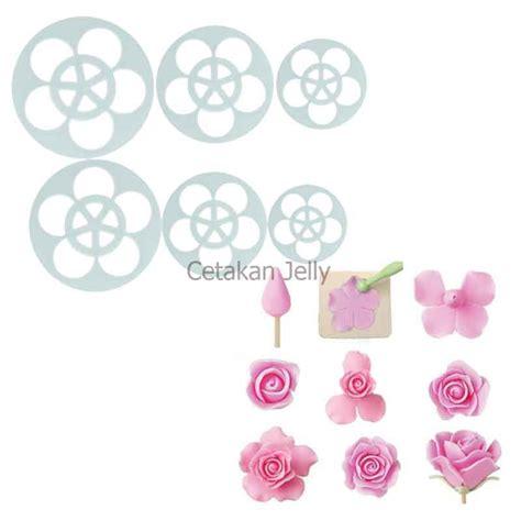 alat hias kue petal cutter set of 11 pcs cetakan
