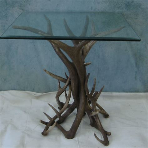 Deer Antler Table Ls by Peak Elk Antler Table