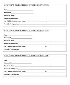 child care receipt template 39 free receipt forms