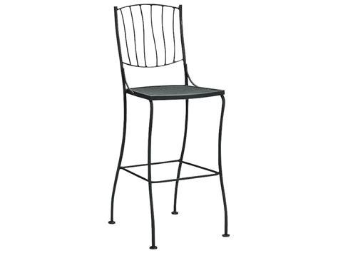 woodard wrought iron bar stool 5l0068