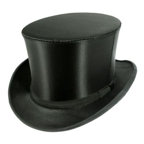 top hat satin collapsible opera top hat top hats