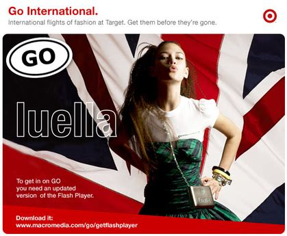 Luella Goes by Industry Flashback Luella For Target Go International