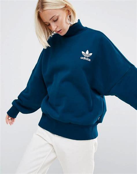 High Neck Sweatshirt adidas originals adidas originals high neck sweatshirt