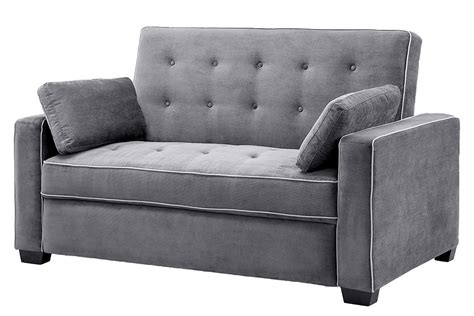 abbyson living bedford gray linen convertible sleeper sectional sofa top sleeper sofa centerfieldbar