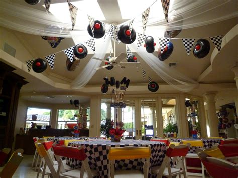 theme decoration dreamark events disney cars theme decor with cars