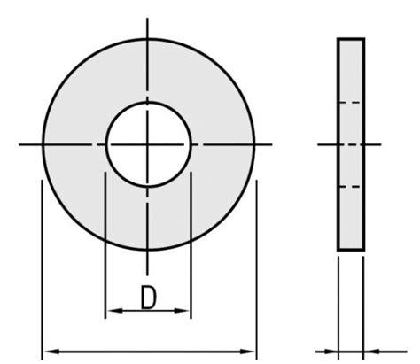 Ring Plat M16 Baja baja ring plat flat washer din125