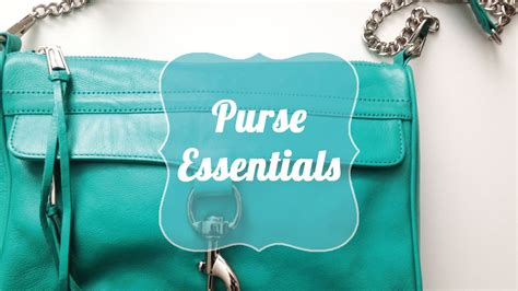 what to keep purse essentials what every women should keep in her bag