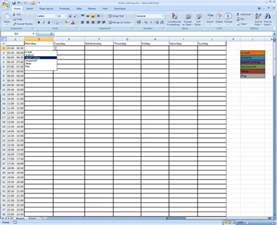 Time Management Spreadsheet Template Gallery For Gt Time Management Template Excel