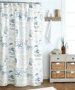 Sea Themed Curtains Sea Themed Shower Curtains Kepnet Bathroom