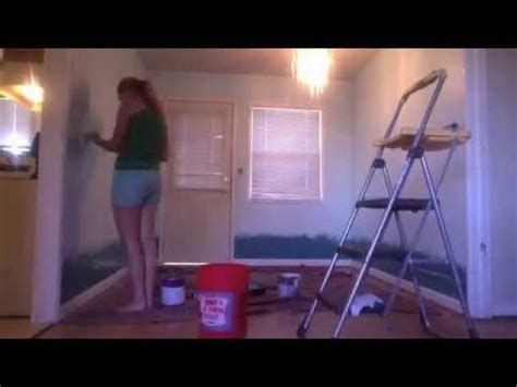 painting my bedroom wall youtube ombre wall paint diy youtube