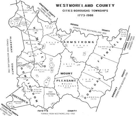 Westmoreland County Property Assessment Records Historic Maps Resources Westmoreland County Pa