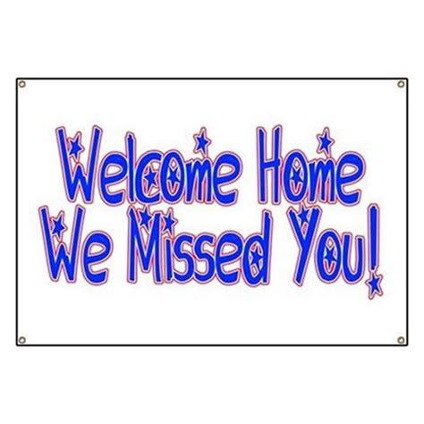 welcome home banner design bild