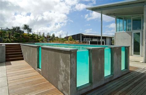 glas pool see through swimming pools reveal a world of surprises