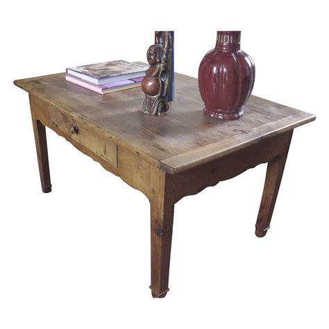 19th century fruitwood coffee table from blacktulip