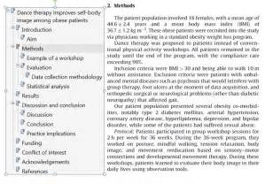 research reports methods