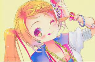 colorful anime anime colorful gal by loveland12 on deviantart