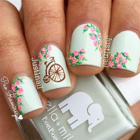 fotos uñas decoradas flores sencillas dise 241 os de u 241 as cortas para que no tengas que esperar
