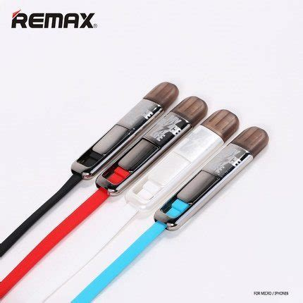 Remax Cable Rm 301 Black remax 2 in 1 lightning cable iphone macbook and apple