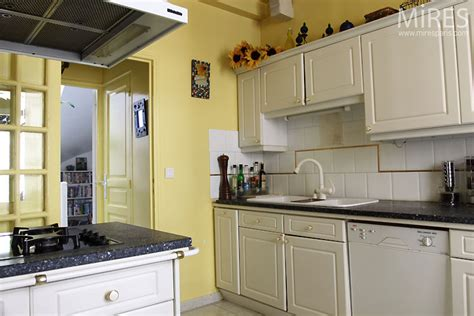 pale yellow kitchen pale yellow kitchen c0390 mires paris