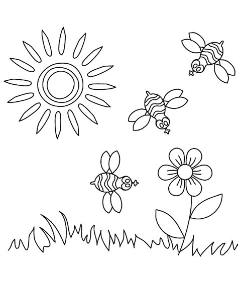 coloring pages sunny weather sunny weather coloring page for children to print or