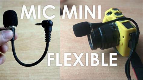 review microphone mini flexible mm cm kameraaksicom