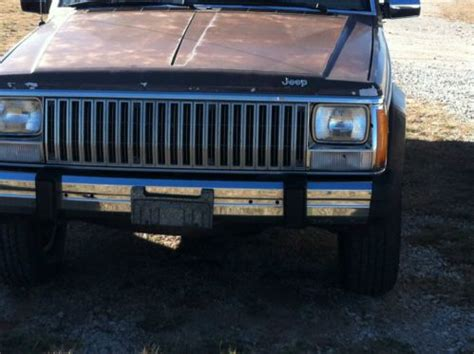 Jeep Corporation Contact Buy Used 1985 Jeep Corporation Amc Wagoneer Limited In