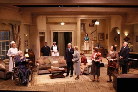 the dinner play photo flash jim brochu cady huffman in the who came