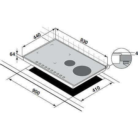 induction hob continuum zone de dietrich dti1089v slimline bevelled edge 90cm wide induction hob with continuum zone