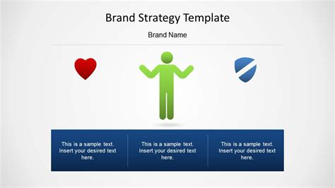 branding strategy template brand strategy template for powerpoint slidemodel