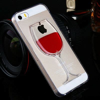 liquid  wine glass cocktail bottle phone case cover  iphone      ebay