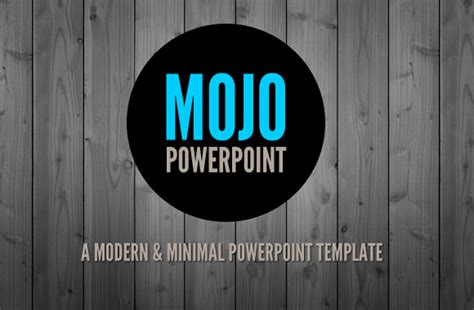 mojo a clean and modern powerpoint template