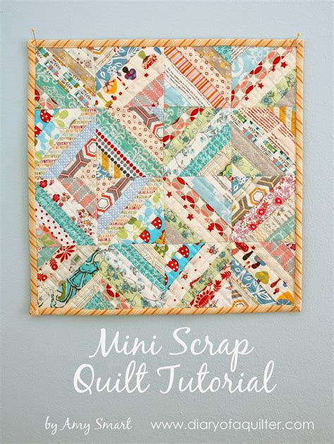 easy scrap fabric quilt block diary of a quilter