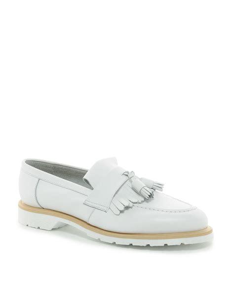 white tassel loafers asos asos tassel loafers made in in white for
