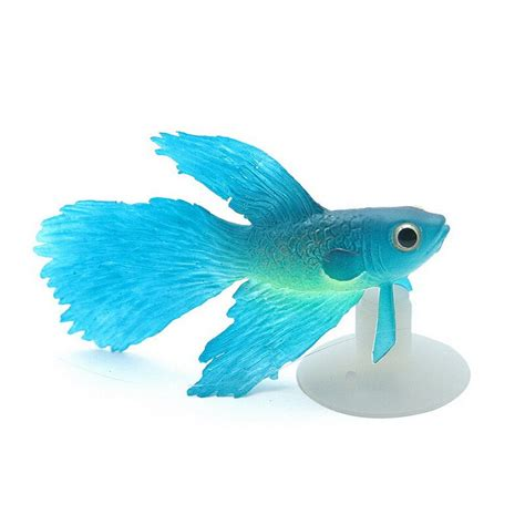fluorescent simulation goldfish aquarium decorations