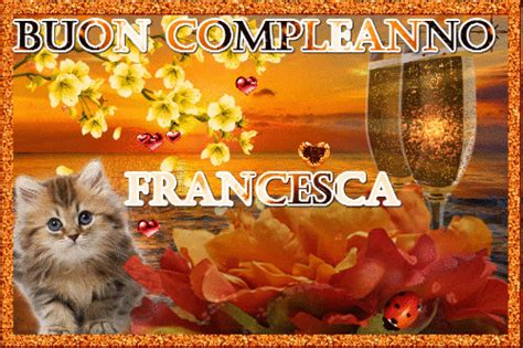 Buon compleanno francesca gif 2 » GIF Images Download E Alphabet Wallpapers