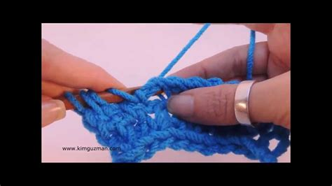 knit stitch left handed tunisian crochet seed stitch left handed