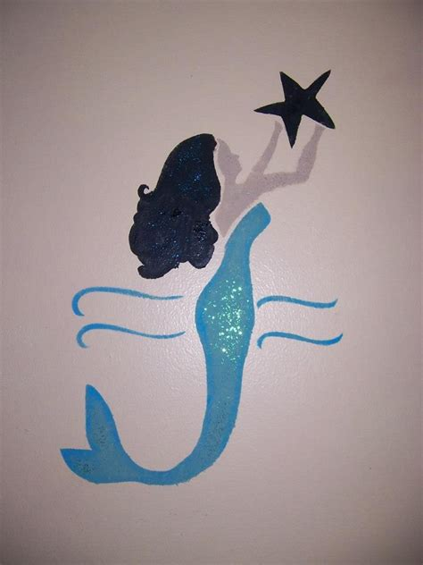 mermaid printable wall art pin by crystal hoskins on crafty ideas pinterest