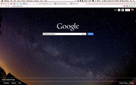google background themes change change google search background to custom image youtube