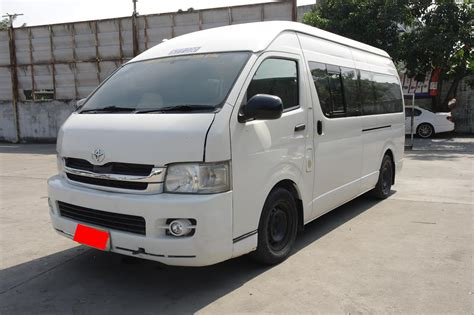 toyota hiace toyota hiace commuter 2010 january