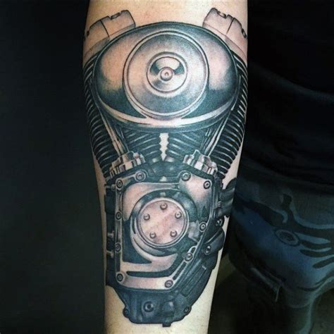harley engine tattoo designs 90 harley davidson tattoos for manly motorcycle designs