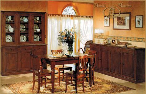 sala da pranzo arte povera sala da pranzo completa credenza contromobile tavolo sedie