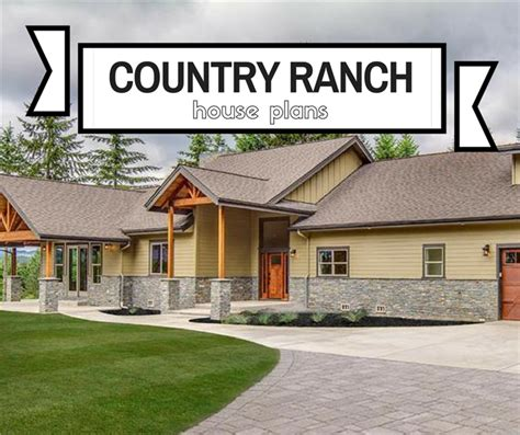 mayland country style home plan 001d 0031 house plans rustic country ranch house plans