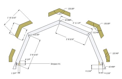 barn style roof trusses plans