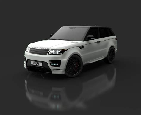 range rover coupe 2014 range rover sport becomes a coupe via bulgari