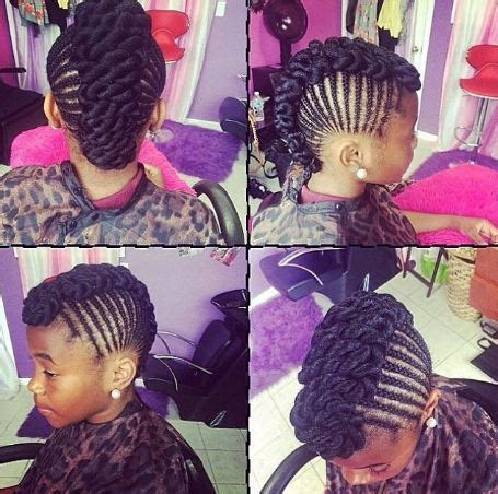 black hairstyle for nine year 12 year old black girl hairstyles onetrend