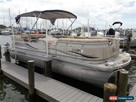 2002 aqua patio 22 5 ft pontoon boat for sale in united states