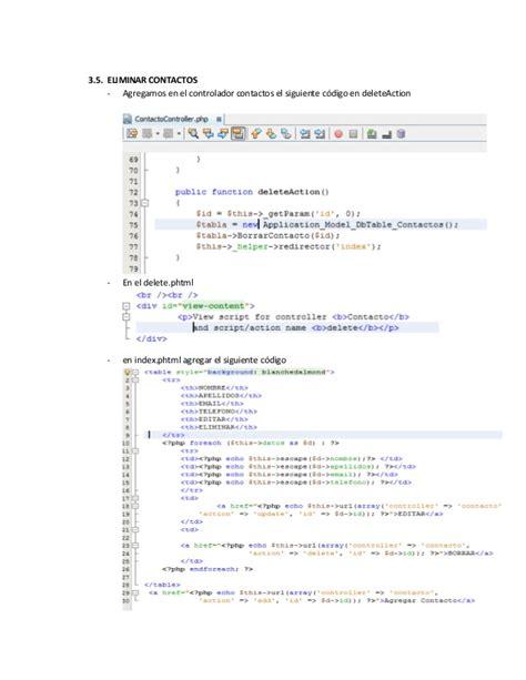 zend framework format date mysql configuracion de zend framework y ejemplo en mysql