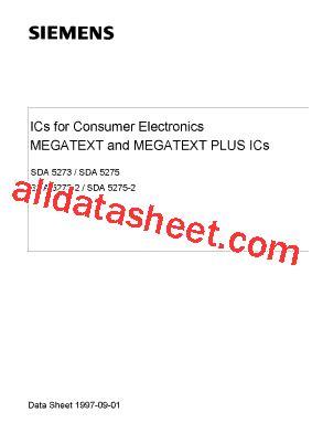 Tda16846 2p Tda16846 sda5273 2p 데이터시트 pdf siemens semiconductor